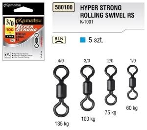 Size 1 Fladen Crossline Rolling Swivel Bulk Pack 100 per pack *